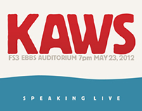 KAWS (Event Poster)