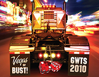 Great West Truck Show Teaser Full Page Print Ad