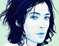 Portrait of Ezra Miller