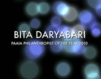 "Bita Daryabari ""Philanthropist of the Year 2010"""