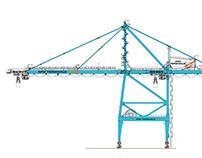 APM Terminals Crane/Vehicle Rebranding