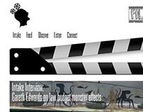 Film Intake Web Design and Logo Design