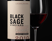 Black Sage Vineyard (Constellation Brands) Package/Logo