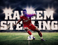 Raheem Sterling - Parallax Responsive Website