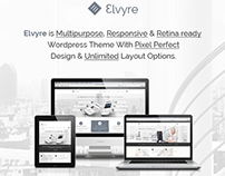 Elvyre Retina Ready Business WordPress Theme