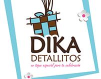 Logotipo DIKA Detallitos