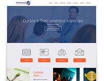 Site - Profissional S/A (em desenvolvimento)