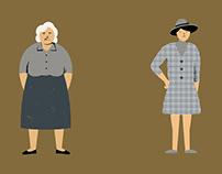 12 Mud Women