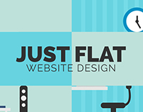 Just Flat Website Design