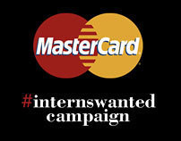 MasterCard #internswanted Campaign
