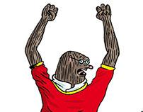 Fifa World Cup Drawings and Comics