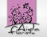Logotipo Aida Florista