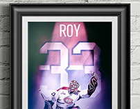 NHL: Patrick Roy (MTL; Jersey Spotlight)