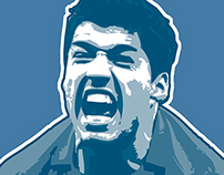 Suarez T-Shirt - You Can't Handle The Tooth