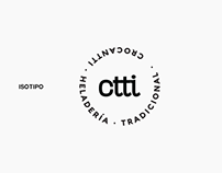 Heladería Crocantti / Branding
