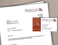 Visitekaartjes, briefpapier en logo