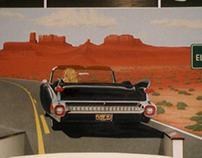 '59 Cadillac El Dorado Mural  21'x14'