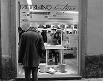RICICLAMI - demonstration at Fabriano Boutique Firenze