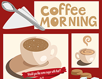 TEACH- Coffee Morning poster