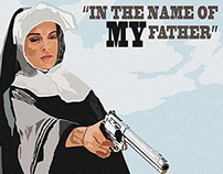 Nun With Gun - Boxgrafik