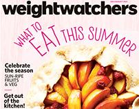 "magazine cover: ""What to Eat This Summer"""