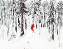 Red snowman