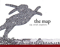 HALL WINES Napa Valley --- The Art Map 2014