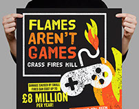 Staffordshire Fire - Flames Aren't Games