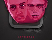 Insomnia - Fight Club Alternative Movie Poster