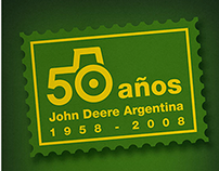John Deere | Isologotipo 50 años