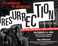Pilgramage to Memphis event poster