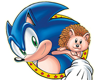 Archie/SEGA Sonic the Hedgehog: Spot Illustrations