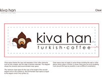 Kiva Han Turkish Coffee Branding