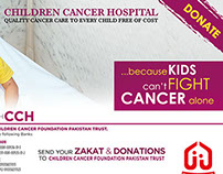 Because Kids Can't Fight Cancer Alone