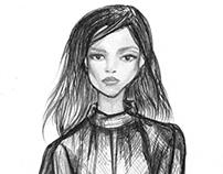 Sketches · Biro/Fineliner/Pencil