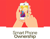 Infographic on Smartphone Ownership (Figures of 2013)