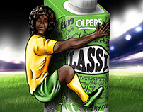 Olper's Lassi-Artwork