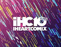 IHeartComix event posters