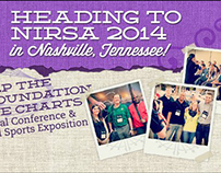 Facebook cover images for NIRSA Conferences