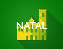 Brazil 2014 Host Cities - Natal