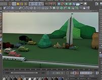 Algo de animación-obra ecomagia