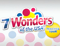 Wonder Bread 7 Wonders of the U.S.A. Teacher Tour