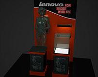 lenovo booth stand