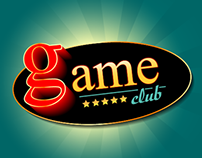 GAME CLUB - logo (free theme)