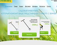 web design for Oblomov