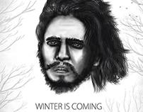 Jon Snow- Winter is Coming