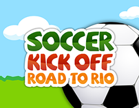 Soccer Kick Off Road to Rio