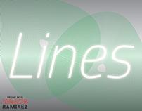 Jugando con luces, lineas y Transpatencias