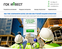 Web design for building company