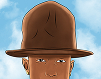 pharrell X hat